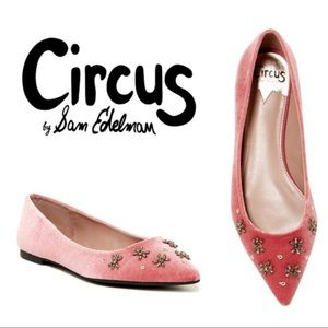 Ritchie Embellished Flats • Circus by Sam Edelman
